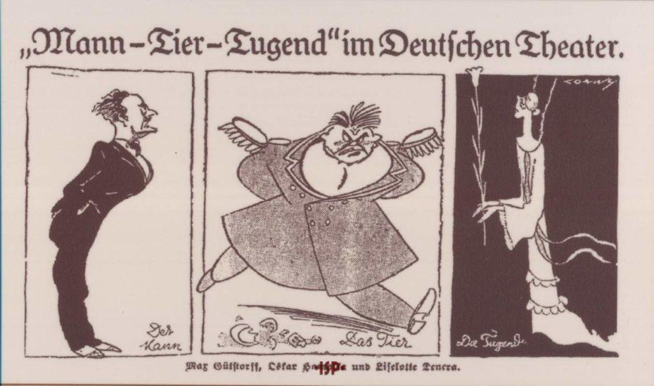 13 L uomo la bestia e la virtu Germania 1925 1