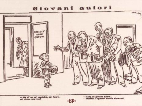 15 Guerin Meschino 1934. Da sinistra Pirandello d Ambra Benelli d Amico. 1