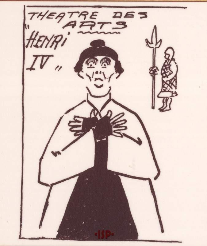 17 Le carnet de la semaine Francia 1925. Georges Pitoeff 1