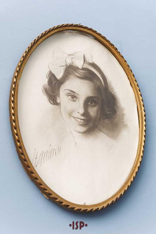 34 Salone. Ritratto di Lietta Aguirre figlia di Lietta Pirandello.