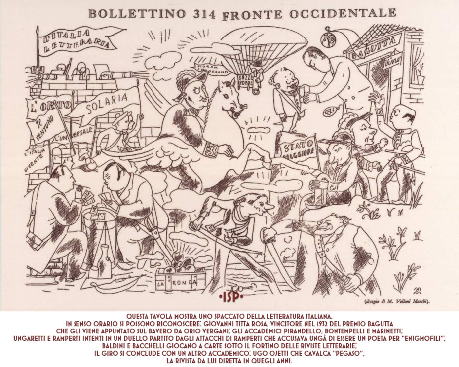 Almanacco Letterario 1933 Vellani Marchi 1