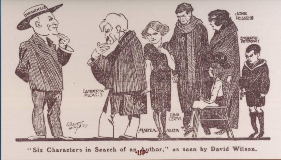 Caricatura di David Wilson 1925 1