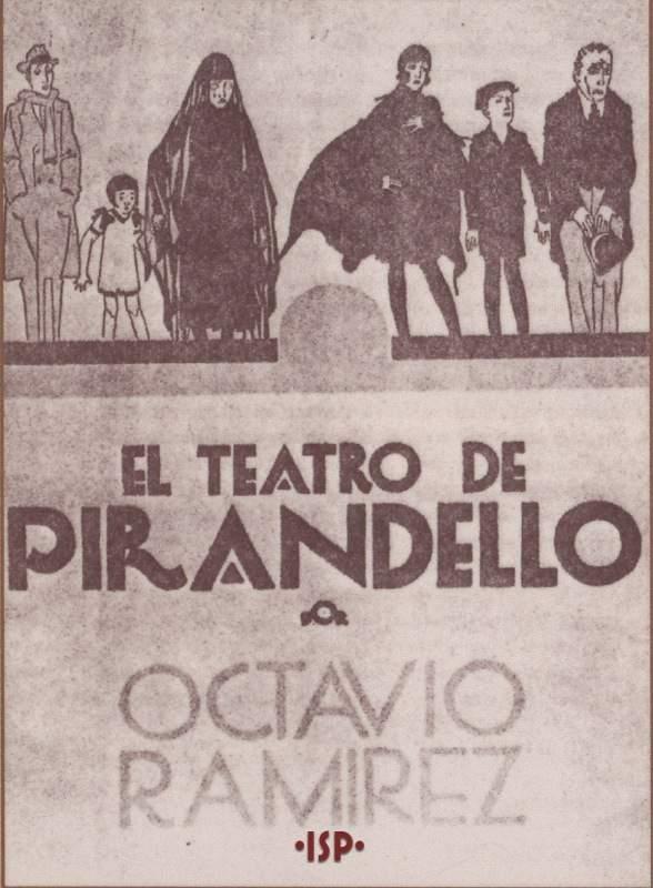 Copertina del primo volume pubblicato in Argentina del Teatro di Luigi Pirandello 1