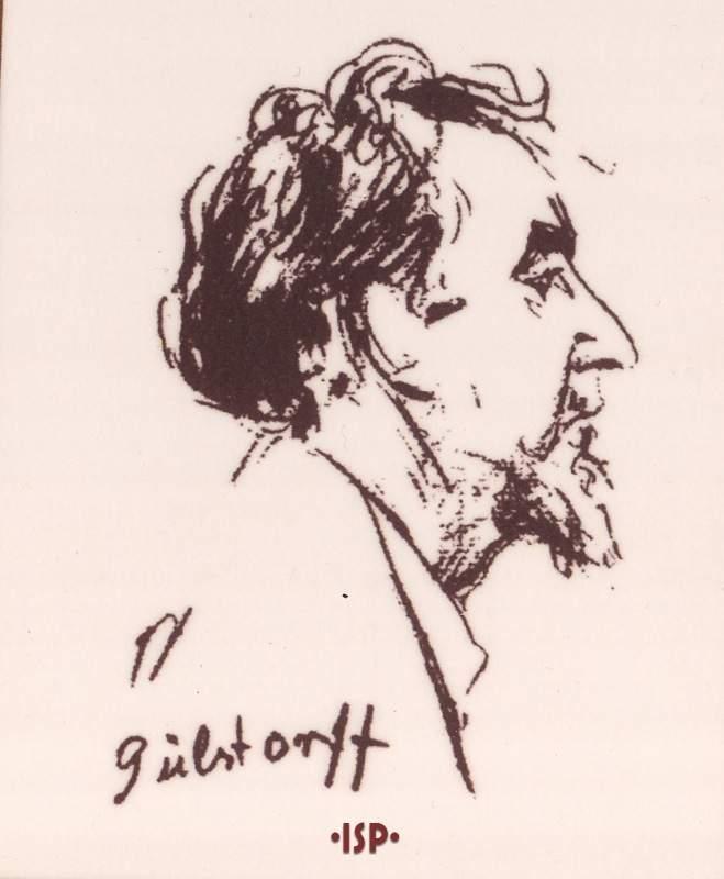 Giornale tedesco Berlino 1924 Il Padre Caricatura di Emil Orlik 1