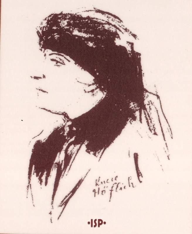Giornale tedesco Berlino 1924 La Madre Caricatura di Emil Orlik 1