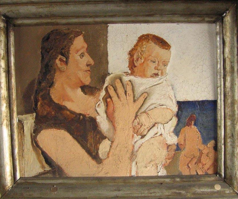 donna con bambino 1