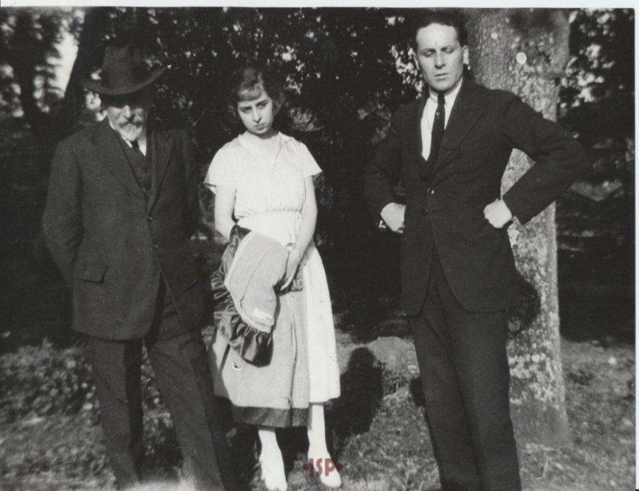 08 Con la figlia Lietta e il marito Manuel Aguirre