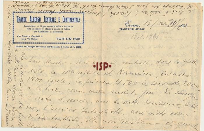 15 gennaio 1931 1