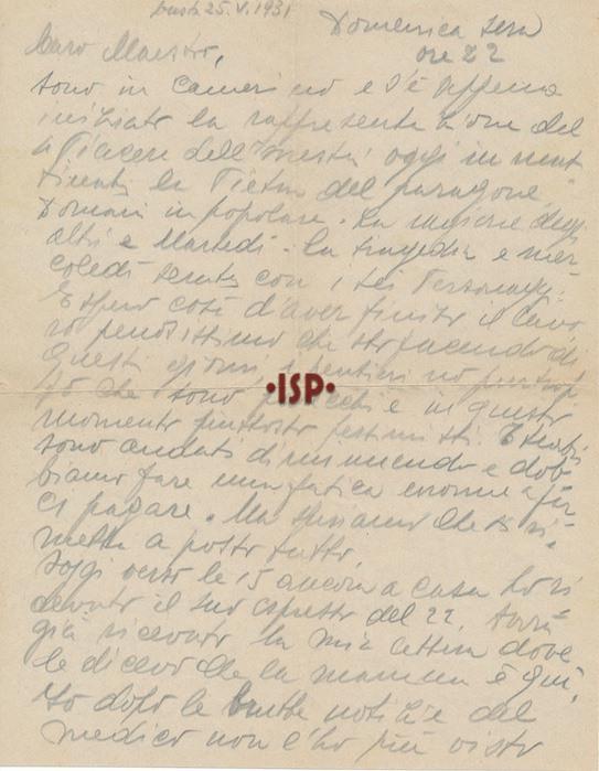 25 maggio 1931 1