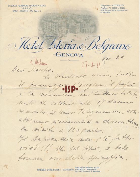 27 agosto 1931 1