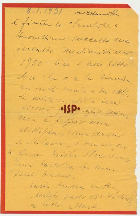 8 gennaio 1931 2