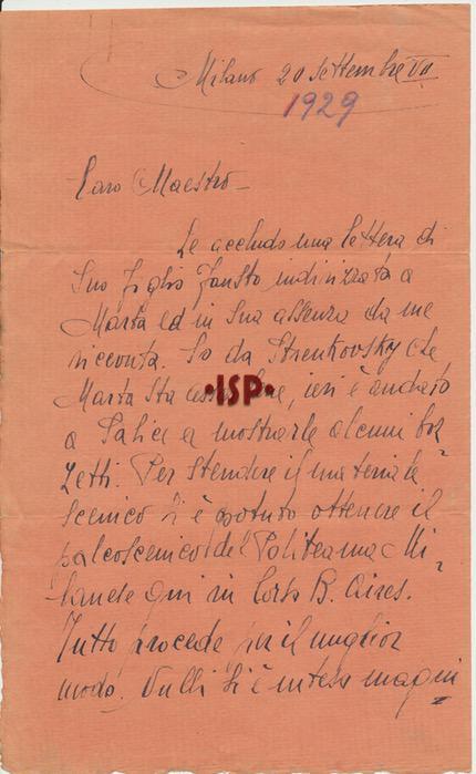 cele 20 settembre 1929 1