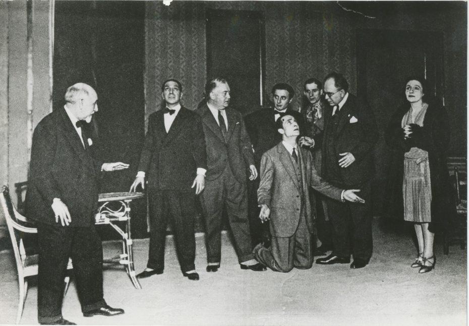 7 Prove di Lazzaro Compagnia Melato 1929