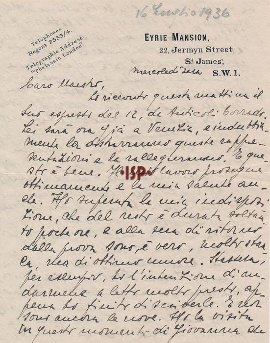 16 luglio 1936 1 1