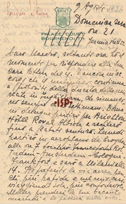 9 agosto 1936 1 1
