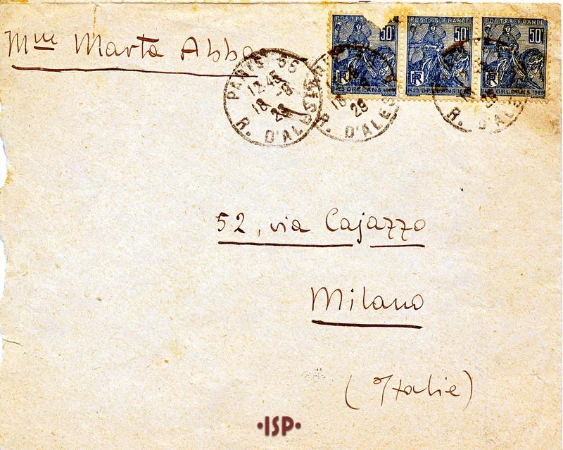 18 settembre 1929 busta