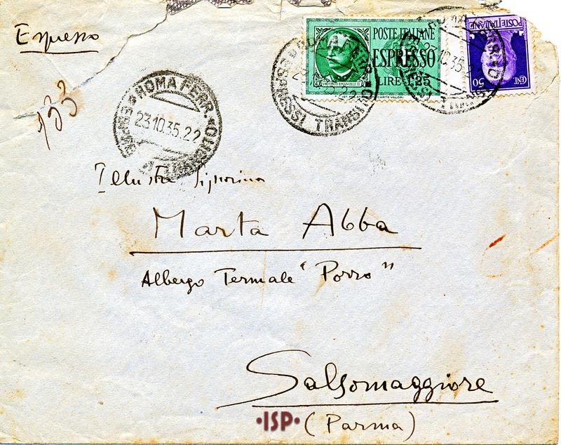 23 ottobre 1935 busta 1