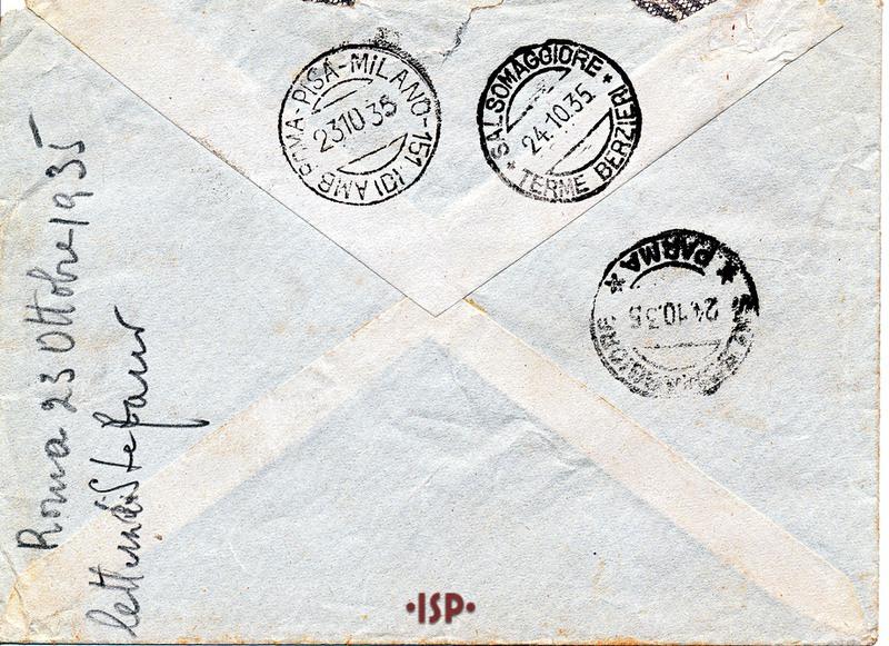 23 ottobre 1935 busta 2