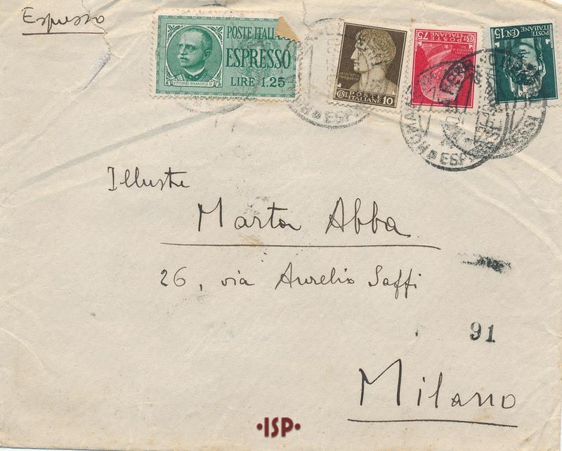 25 ottobre 1935 busta