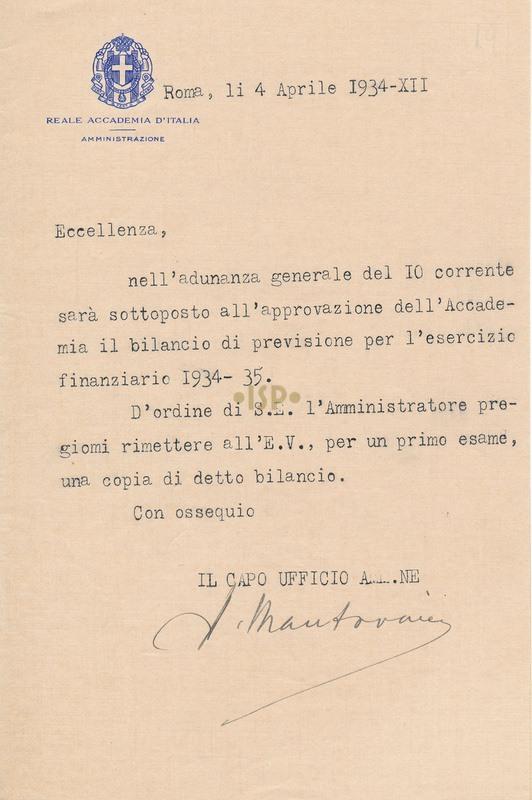 16 Mantovani 4 aprile 1934