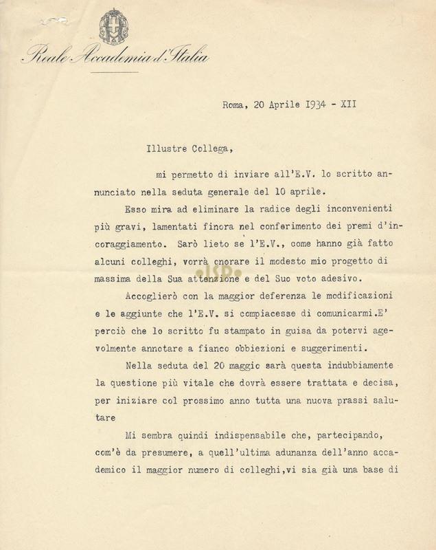 18 Luzio 20 aprile 1934 1r