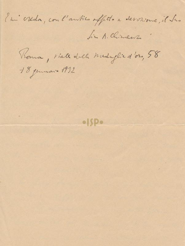 20 Chimenz 18 gennaio 1932 3
