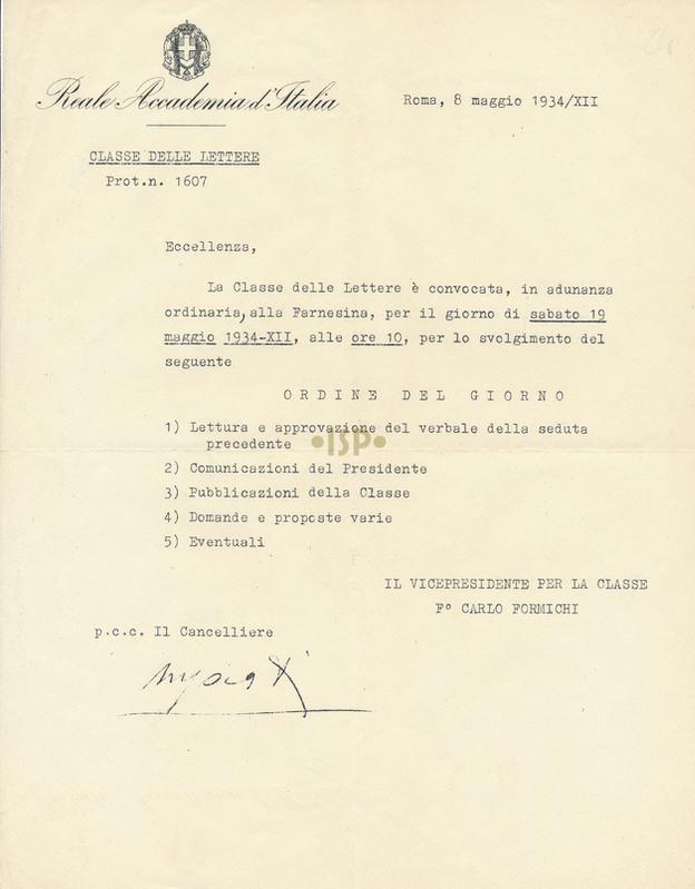 22 Formichi Marpicati 8 maggio 1934