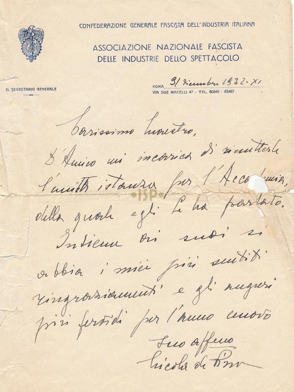 24 De Pirro 31 dicembre 1932