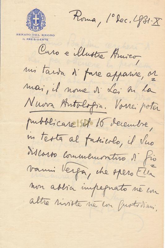27 Federzoni 1 dicembre 1931 1r