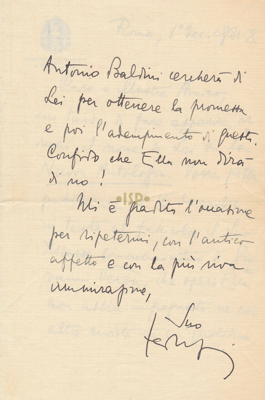 28 Federzoni 1 dicembre 1931 1v