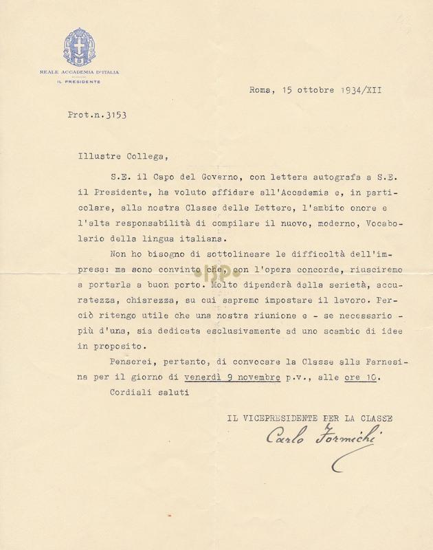 29 Formichi 15 ottobre 1934