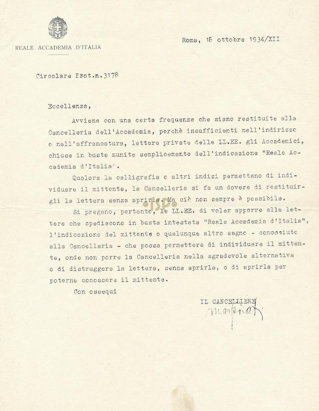30 Marpicati 18 ottobre 1934