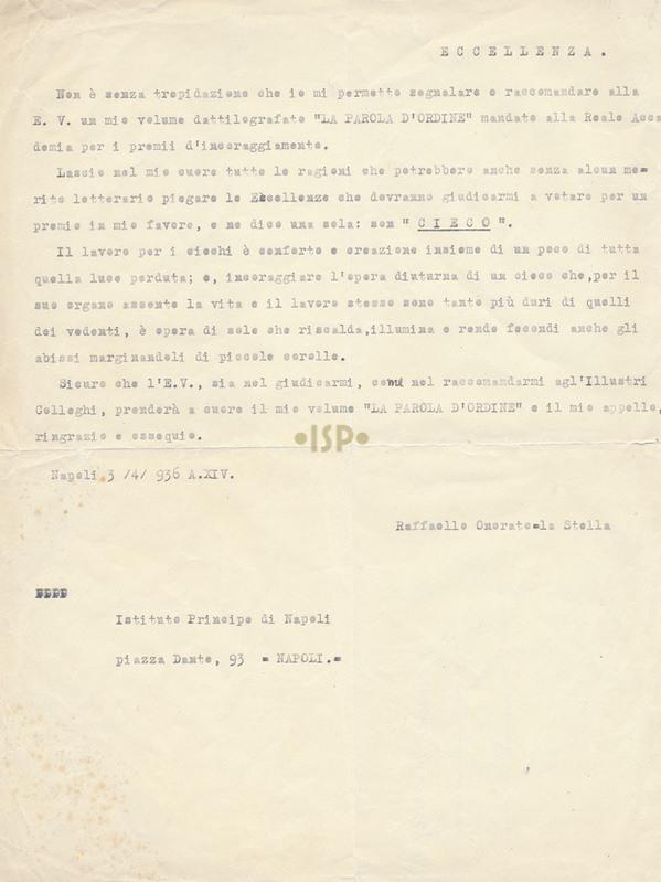 34 Onorato La Stella 3 aprile 1936