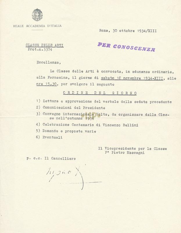 35 Mascagni Marpicati 30 ottobre 1934