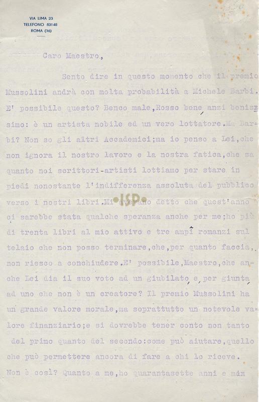 36 Puccini 27 gennaio 1935 1