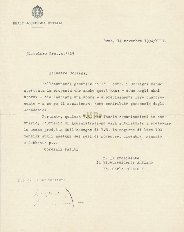 38 Formichi Marpicati 14 novembre 1934