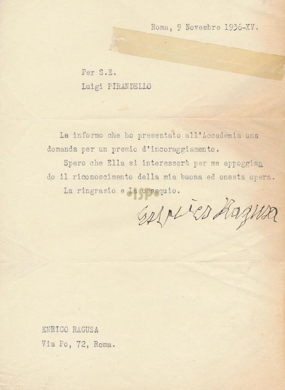 42 Ragusa 9 novembre 1936