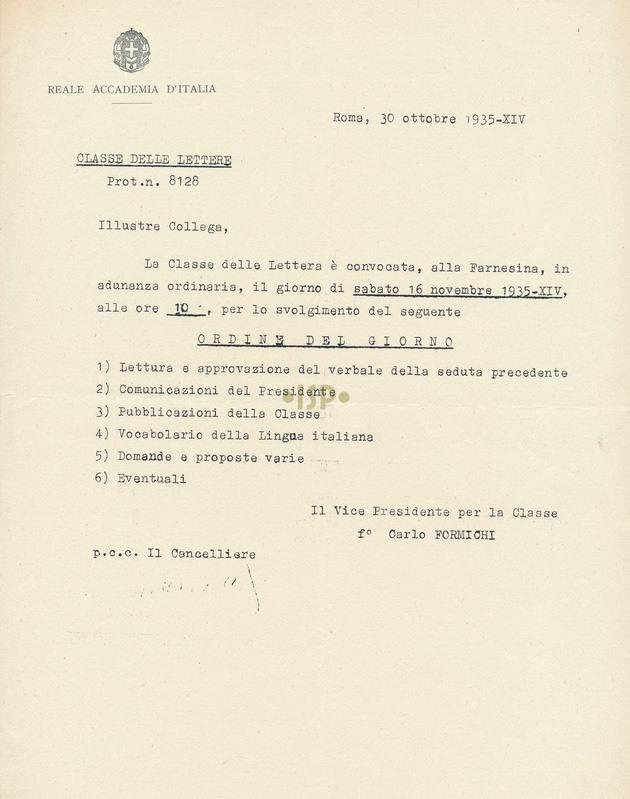 50 Formichi Marpicati 30 ottobre 1935