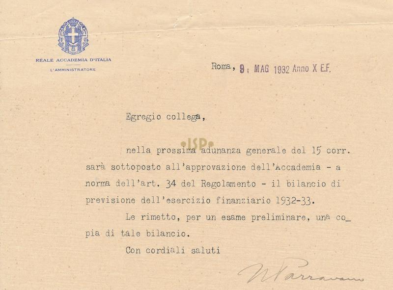 6 Parravano 9 maggio 1932