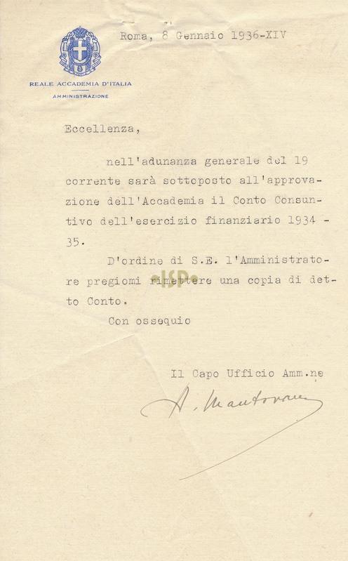 61 Mantovani 8 gennaio 1936
