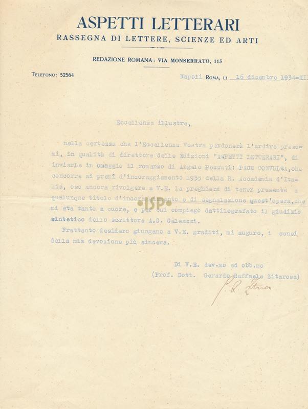 62 Zitarosa 16 dicembre 1934