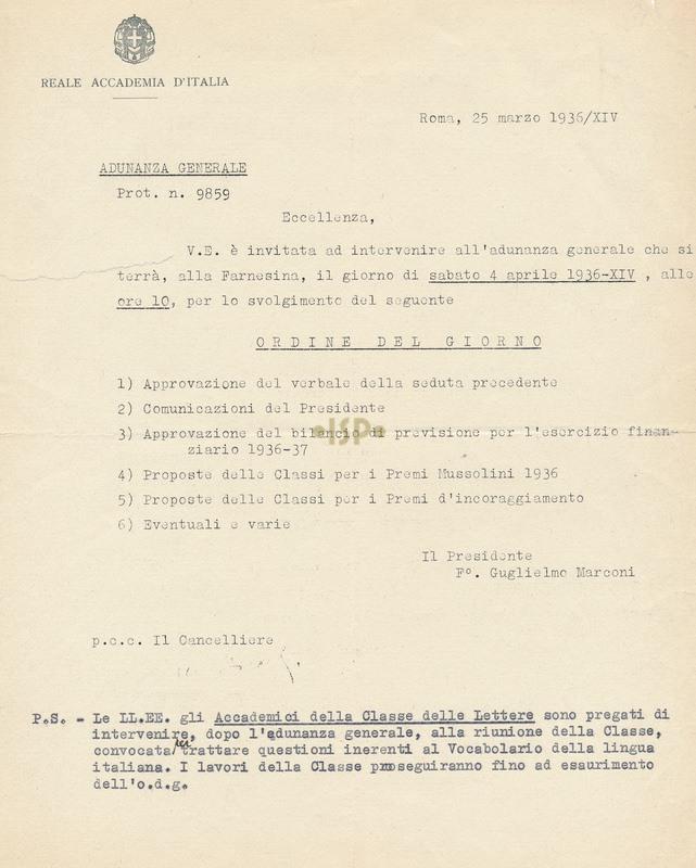 67 Marconi Marpicati 25 marzo 1936