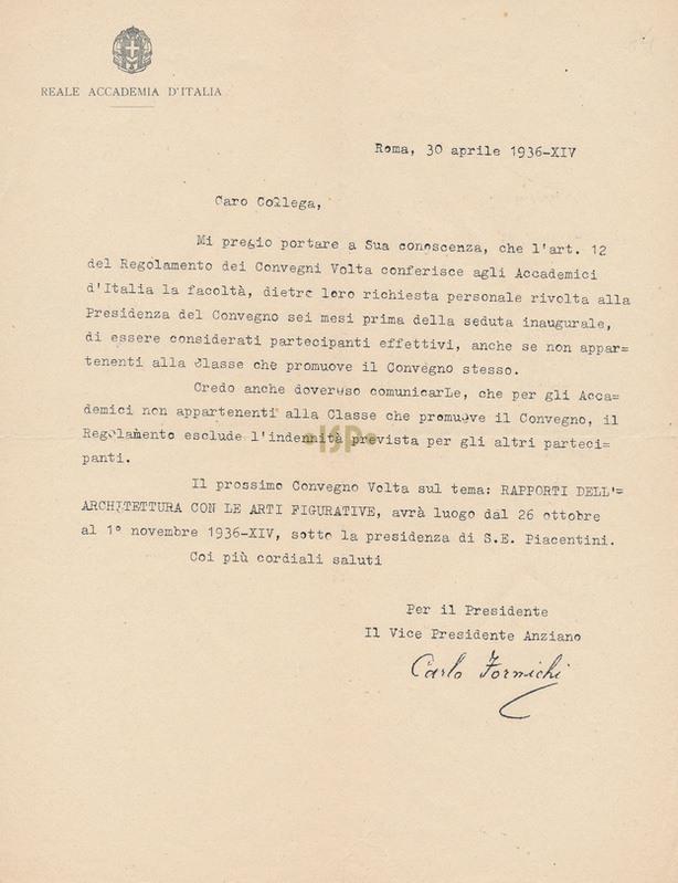 70 Formichi 30 aprile 1936