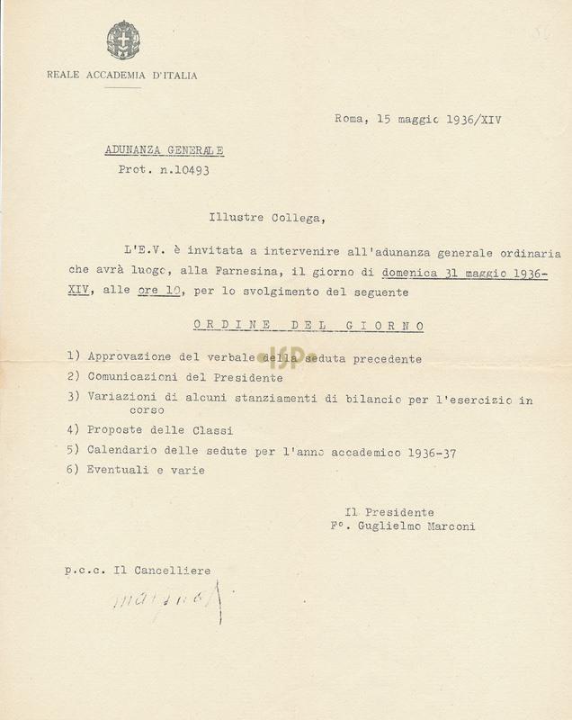 72 Marconi Marpicati 15 maggio 1936