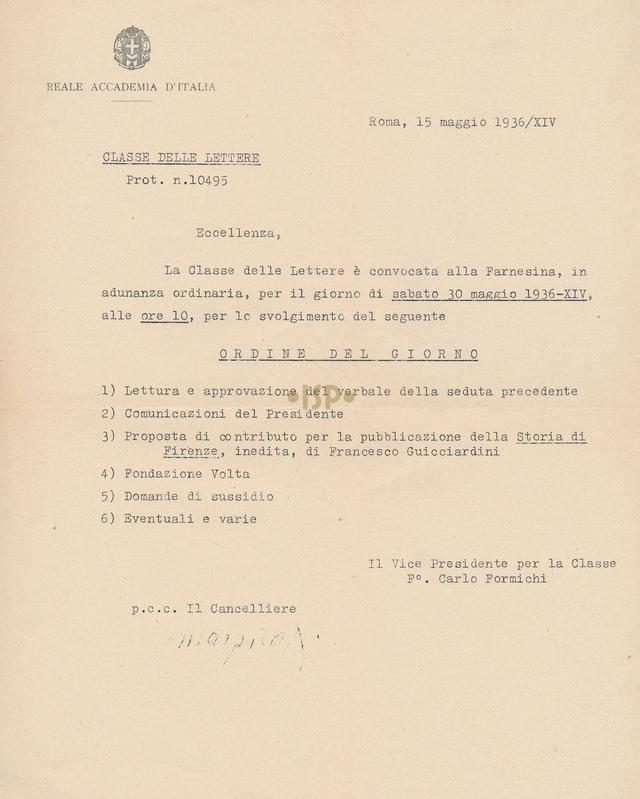 73 Formichi Marpicati 15 maggio 1936