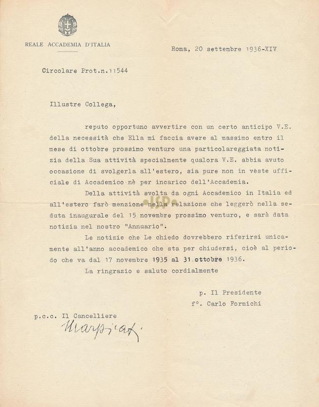76 Formichi Marpicati 20 settembre 1936