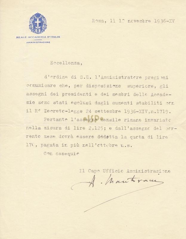 77 Mantovani 10 novembre 1936