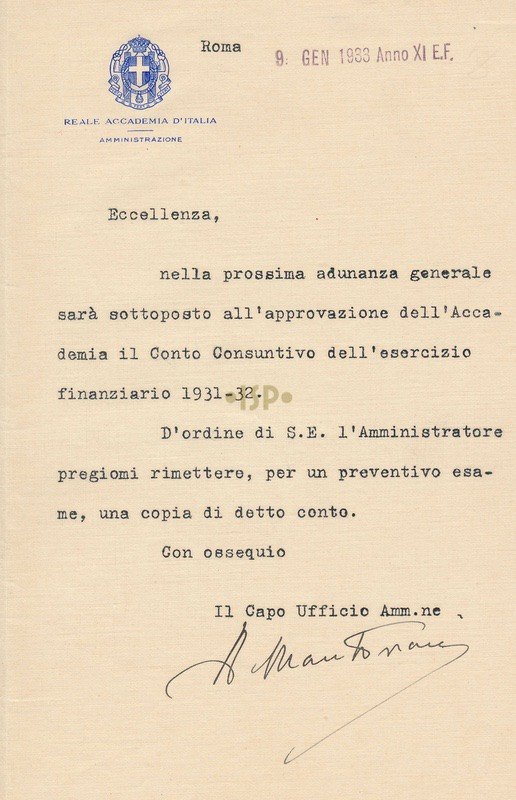 8 Mantovani 9 gennaio 1933