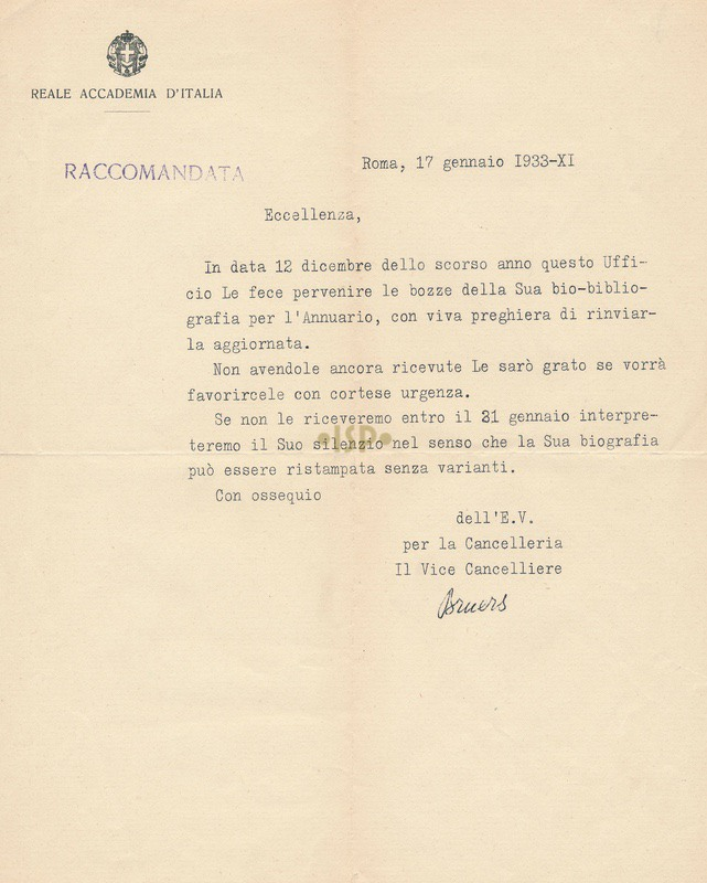 9 bruers 17 gennaio 1933